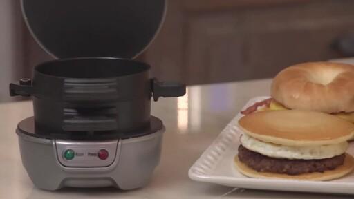 Hamilton Beach Breakfast Sandwich Maker - image 1 from the video