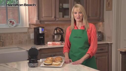 Hamilton Beach Breakfast Sandwich Maker - image 10 from the video