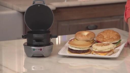 Hamilton Beach Breakfast Sandwich Maker - image 2 from the video