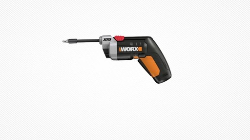 Worx XTD Reach 4V Screwdriver - image 4 from the video