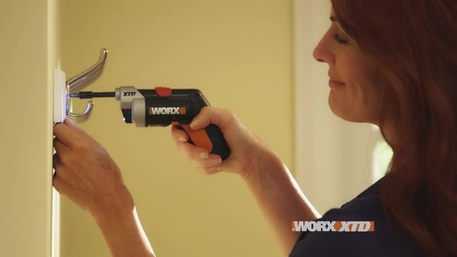 Worx XTD Reach 4V Screwdriver - image 5 from the video