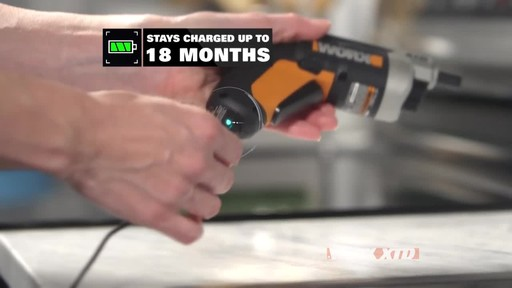Worx XTD Reach 4V Screwdriver - image 7 from the video