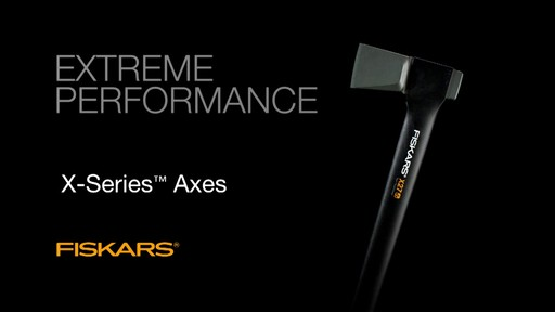 Fiskars X-Series Axes Power At Impact - image 10 from the video