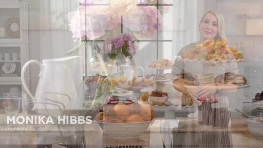 Monika Hibbs on how to style a dining table - image 2 from the video