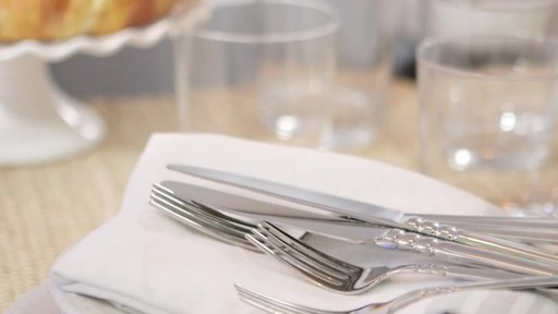 Monika Hibbs on how to style a dining table - image 5 from the video