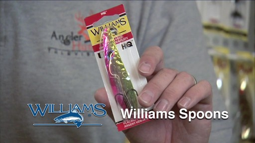 Williams HQ35 Spoon - image 7 from the video