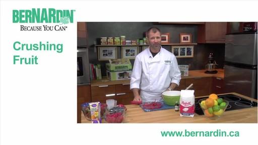 Crushing Fruit - Bernardin - image 1 from the video