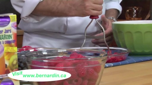 Crushing Fruit - Bernardin - image 7 from the video