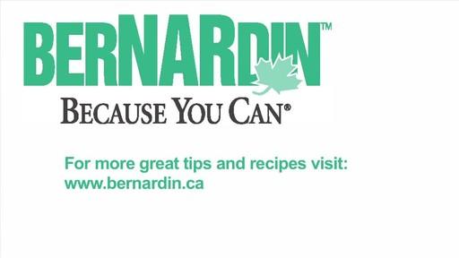 Crushing Fruit - Bernardin - image 9 from the video