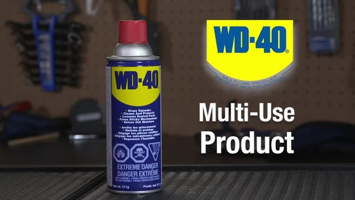 WD-40 Multi-Purpose Lubricant - image 10 from the video