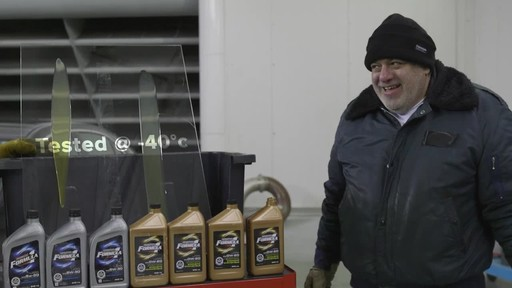 Motomaster Formula 1 Synthetic Engine Oil  - Robert's Testimonial - image 5 from the video