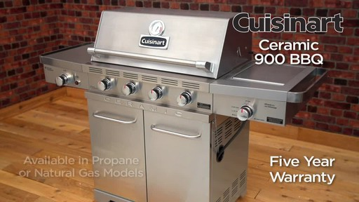 Cuisinart Ceramic 900 BBQ - image 10 from the video