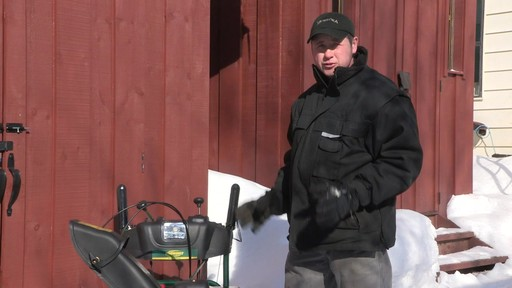 Yardworks 357cc 2-Stage Snowblower - Don's Testimonial - image 1 from the video