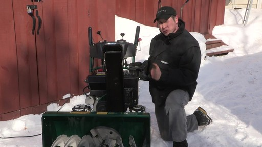 Yardworks 357cc 2-Stage Snowblower - Don's Testimonial - image 10 from the video