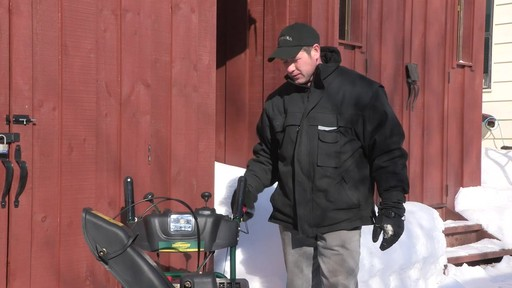 Yardworks 357cc 2-Stage Snowblower - Don's Testimonial - image 2 from the video