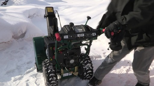 Yardworks 357cc 2-Stage Snowblower - Don's Testimonial - image 3 from the video