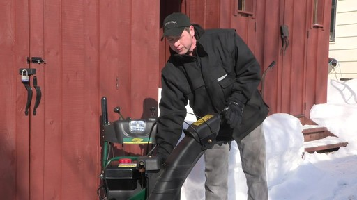 Yardworks 357cc 2-Stage Snowblower - Don's Testimonial - image 5 from the video