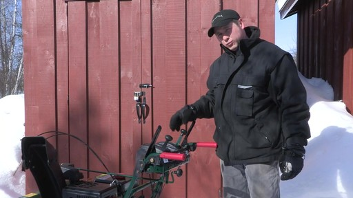 Yardworks 357cc 2-Stage Snowblower - Don's Testimonial - image 6 from the video