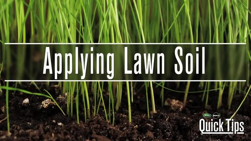 Applying Lawn Soil with Frankie Flowers - image 1 from the video