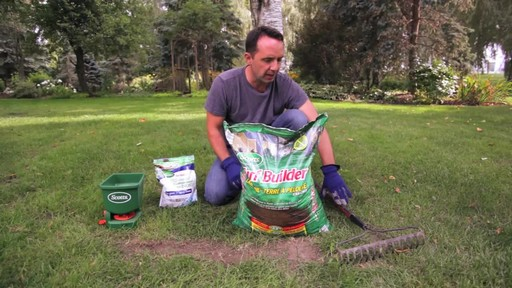 Applying Lawn Soil with Frankie Flowers - image 2 from the video