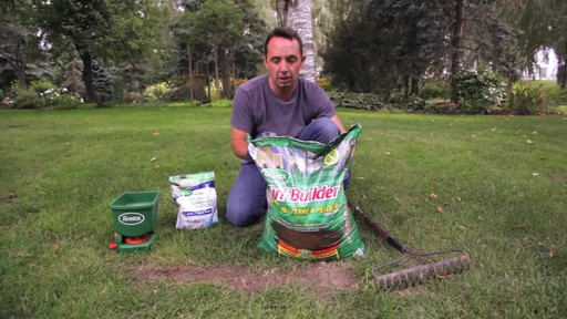 Applying Lawn Soil with Frankie Flowers - image 3 from the video