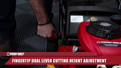 Troy-Bilt front wheel drive - image 4 from the video