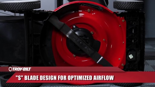 Troy-Bilt front wheel drive - image 5 from the video