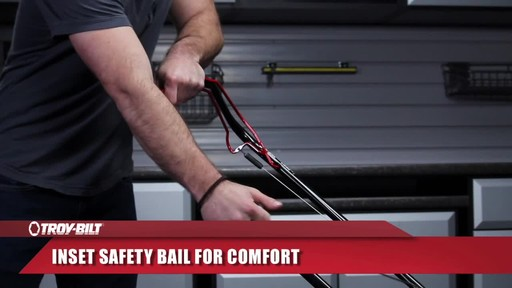 Troy-Bilt front wheel drive - image 8 from the video