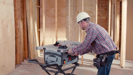 Maximum Compact Jobsite Table Saw, 10-in - image 1 from the video