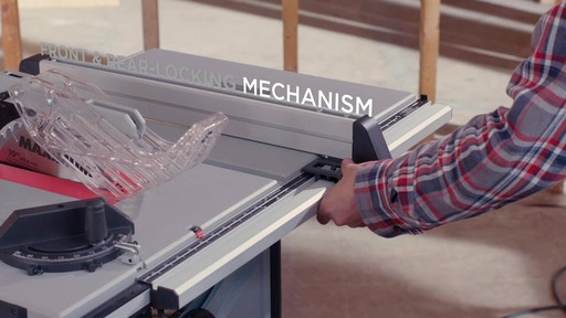 Maximum Compact Jobsite Table Saw, 10-in - image 7 from the video