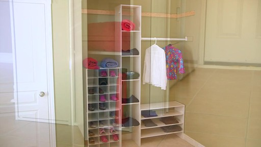 ClosetMaid Stackable Storage Systems - image 4 from the video