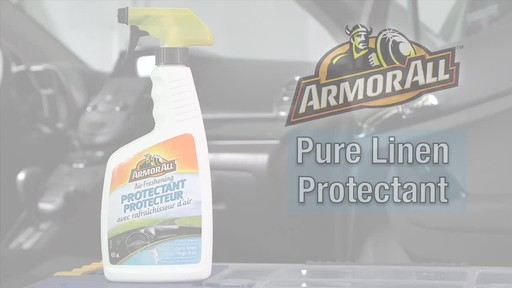 Armor All Protectant Spray, Pure Linen - image 10 from the video