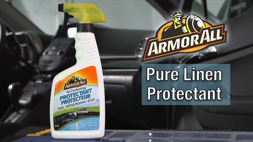 Armor All Protectant Spray, Pure Linen - image 9 from the video