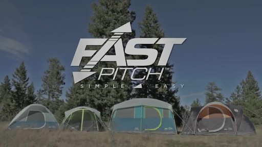 Coleman Fast Pitch Tents - image 10 from the video