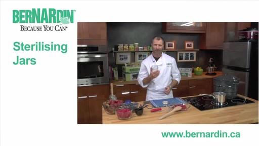 Sterilising Jars - Bernardin - image 1 from the video