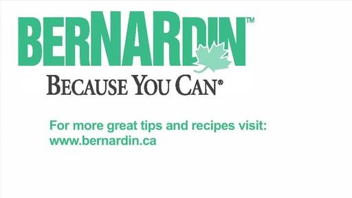 Sterilising Jars - Bernardin - image 10 from the video