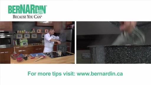 Sterilising Jars - Bernardin - image 7 from the video