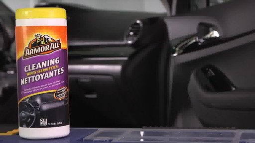 Armor All Cleaning & Disinfecting Wipes - image 4 from the video