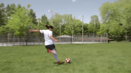 #WannaPlay? Christine Sinclair can hit ANY net.  - image 1 from the video