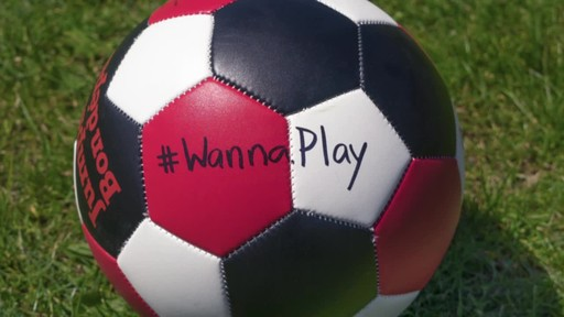 #WannaPlay? Christine Sinclair can hit ANY net.  - image 10 from the video