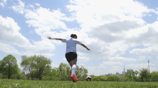 #WannaPlay? Christine Sinclair can hit ANY net.  - image 3 from the video