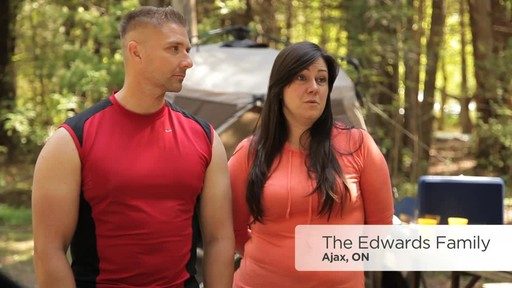 Edwards Family Review of the Coleman Instant Tent from Canadian Tire - image 1 from the video