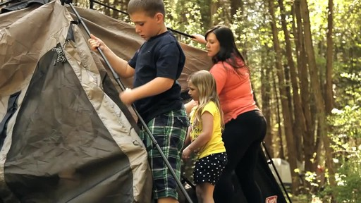 Edwards Family Review of the Coleman Instant Tent from Canadian Tire - image 4 from the video