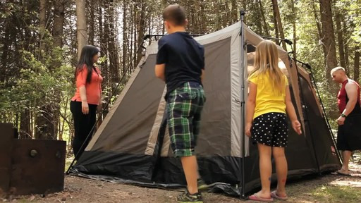 Edwards Family Review of the Coleman Instant Tent from Canadian Tire - image 5 from the video