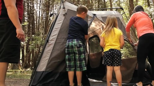 Edwards Family Review of the Coleman Instant Tent from Canadian Tire - image 6 from the video