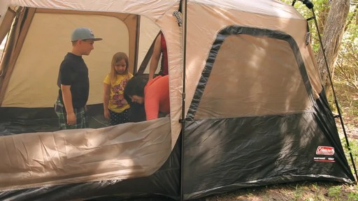 Edwards Family Review of the Coleman Instant Tent from Canadian Tire - image 8 from the video