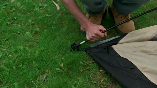 How to Set-up a Pole Tent - image 5 from the video