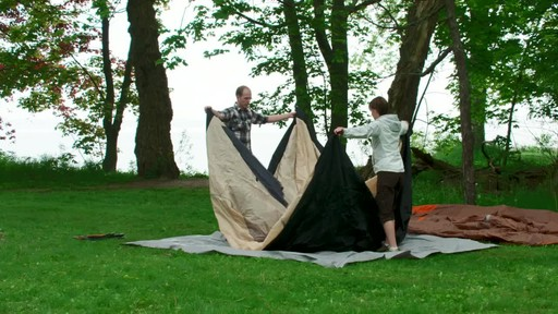How to Set-up a Pole Tent - image 9 from the video
