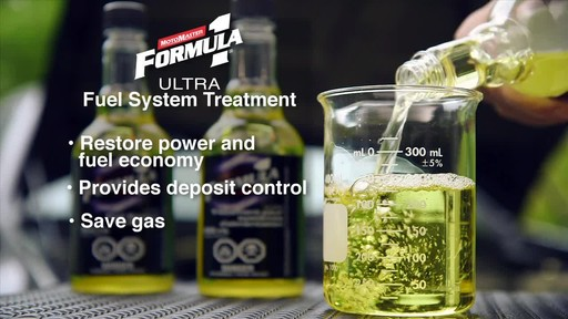 MotoMaster F1 Ultra Fuel System Treatment - image 7 from the video