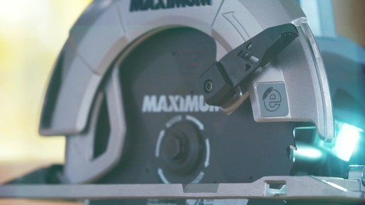 MAXIMUM 15A Circular Saw with E-Brake - image 1 from the video